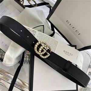 🌟NWT Fashion Pearl Belt 95CM By Gucci